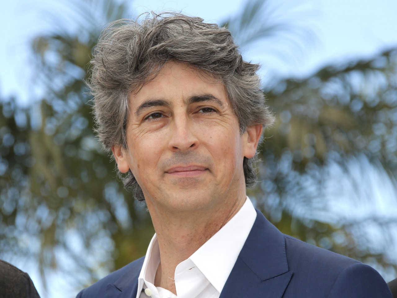 The 56-year old son of father (?) and mother(?), 178 cm tall Alexander Payne in 2017 photo